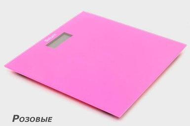 Весы напольные электронные Saturn (Розовая)