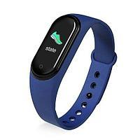 Фитнес-трекер браслет Smart M Band 5 (Синий)