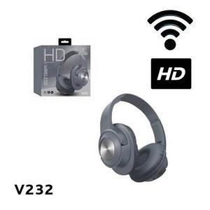 Bluetooth-наушники беспроводные HD Wireless V232 (Серый)
