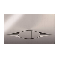 E29027-CP Кнопка смыва Jacob Delafon двойная с панелью смыва, хром