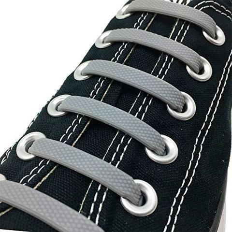 Шнурки силиконовые Good-Bye Tie {8+8} (Серый)
