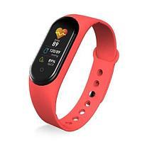 Фитнес-трекер браслет Smart M Band 5 (Красный)