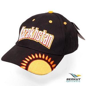 Бейсболка с 3D-вышевкой Patriot KZ BERKUT Sportware (Солнце Казахстана на черном)