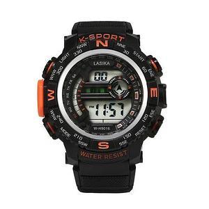 Часы наручные водонепроницаемые и ударостойкие K-SHOCK Lasika Sport (Оранжевый)