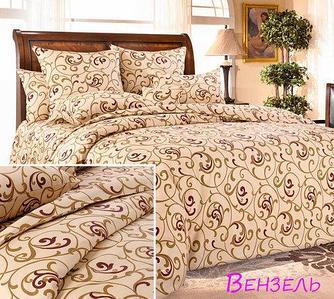 Комплект постельного белья из бязи евростандарт «Королевское искушение» ТекстДизайн (Вензель)