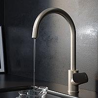 F8007711 Like, смеситель для кухни с каналом для питьевой воды, сатин, шт.