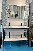 Раковина с консолью Ciello в комплекте с зеркалом