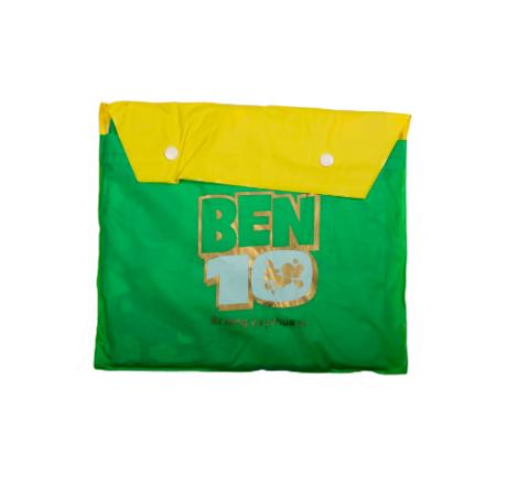 """Дождевик детский из непромокаемой ткани с капюшоном (M / """"Бен 10"""")"""