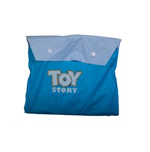 """Дождевик детский из непромокаемой ткани с капюшоном (M / """"История игрушек"""")"""