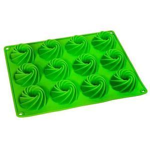 Силиконовая форма для выпечки и шоколада «Праздничные штучки» (Кекс фигурный)