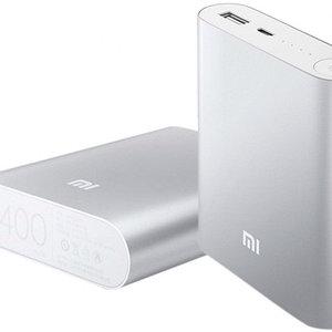 Зарядное устройство портативное Power Bank XIAOMI {10400, 20800 mAh} (Серебро / 10400 мА/ч)