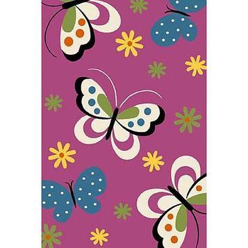 Прямоугольный ковёр Crystal 0772, 80 х 150 см, цвет purple