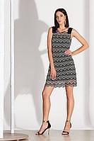 Женское осеннее кружевное черное нарядное платье Noche mio 1.150 42р.