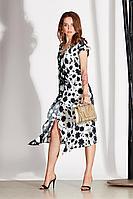 Женское осеннее из вискозы черное нарядное платье Noche mio 1.163 44р.