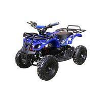 Детский электро квадроцикл MOTAX ATV Х-16 800W, синий