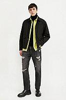 Ветровка из смесовой ткани с защитой от влаги Finn Flare, цвет черный, размер M