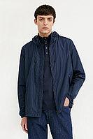 Ветровка с капюшоном и подкладкой Finn Flare, цвет темно-синий, размер XL