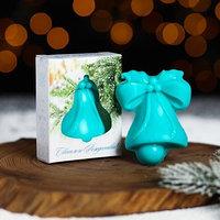 Мыло в форме колокольчика 'Светлого Рождества!'