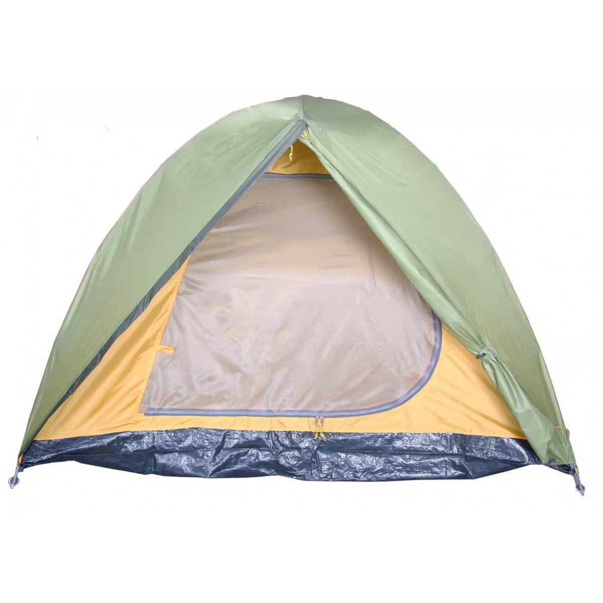 Палатка BREEZE-3 Helios зеленый HS-2370-3 - фото 2
