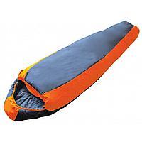 Спальный мешок nord 5000 btrace синий/серый, левый S0544