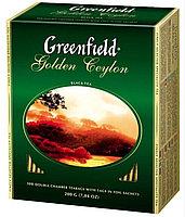 Чай чёрный Greenfield, 100 пакетиков