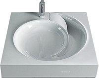 Раковина под стиральную машину Jorno QOPP 60 4627173210140 60,5x60,3 см, литьевой мрамор