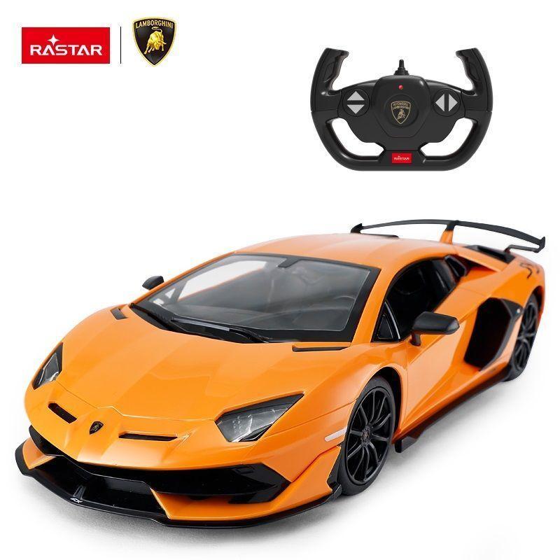 Rastar Радиоуправляемая машинка Lamborghini Aventador SVJ, 1/14