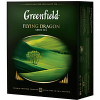 Чай Greenfield Flying Dragon, зеленый,100 пакетиков