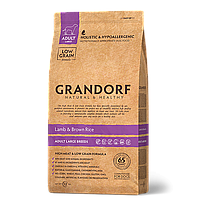 586124 GRANDORF Large Adult, сухой корм для собак крупных пород, ягнёнок с рисом, уп.12 кг.