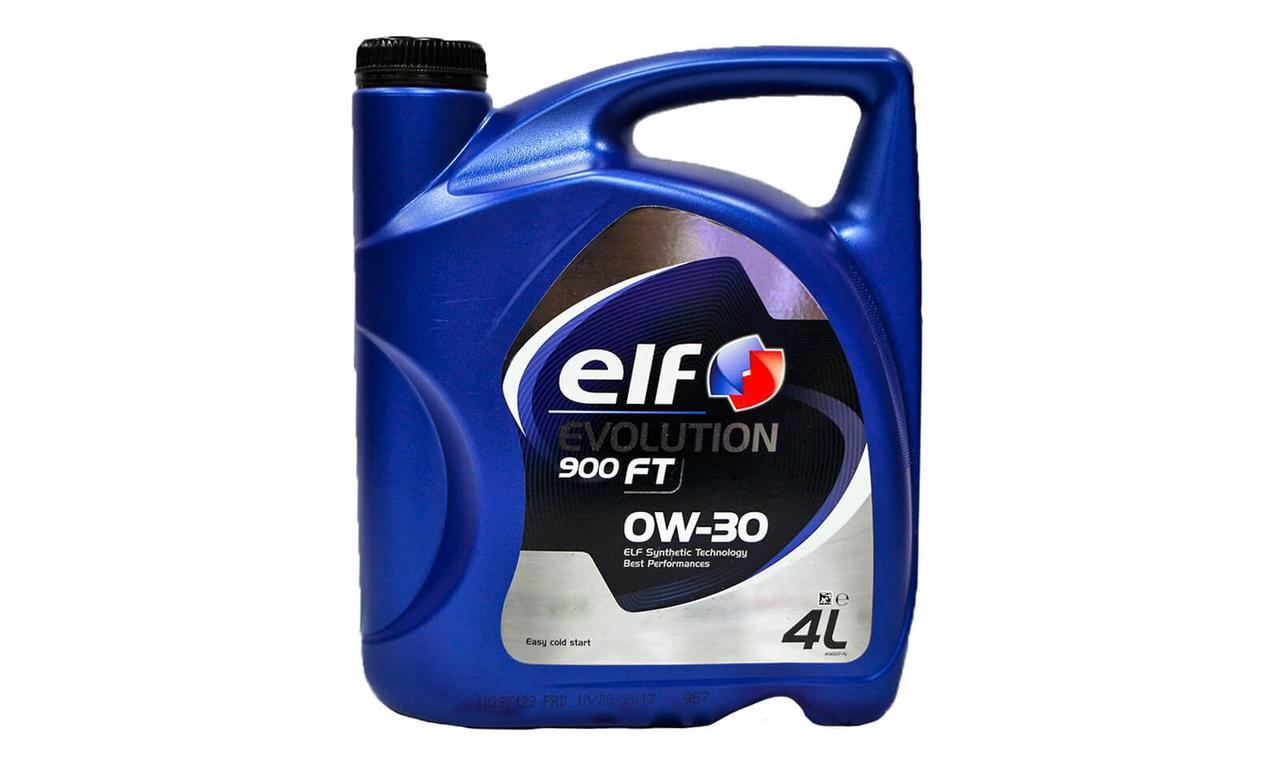 Моторное масло ELF EVOLUTION 900 FT 0W-30 4л.