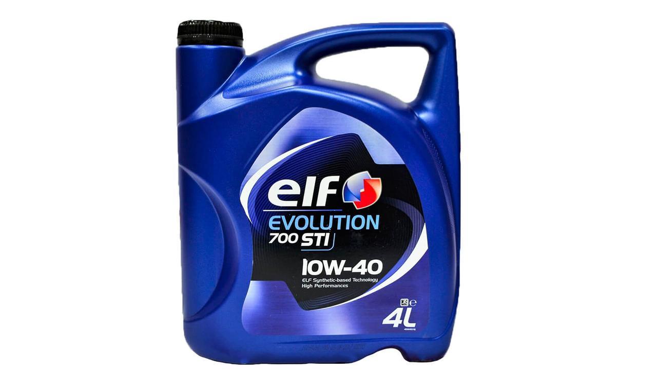 Моторное масло ELF EVOLUTION 700 STI 10W-40 4л.