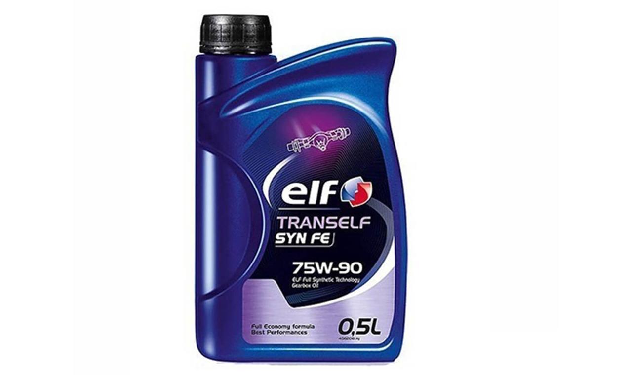 Трансмиссионное масло ELF 75W-90 0.5л.