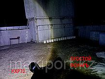 Мощный тактический фонарь HXP70 Влагозащищенный 35W (уценка), фото 3