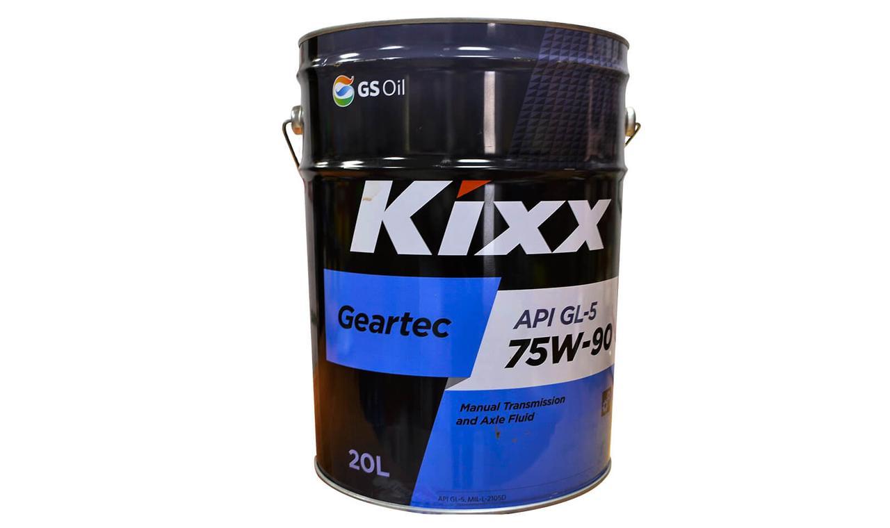 Kixx Geartec 75w90 20л.