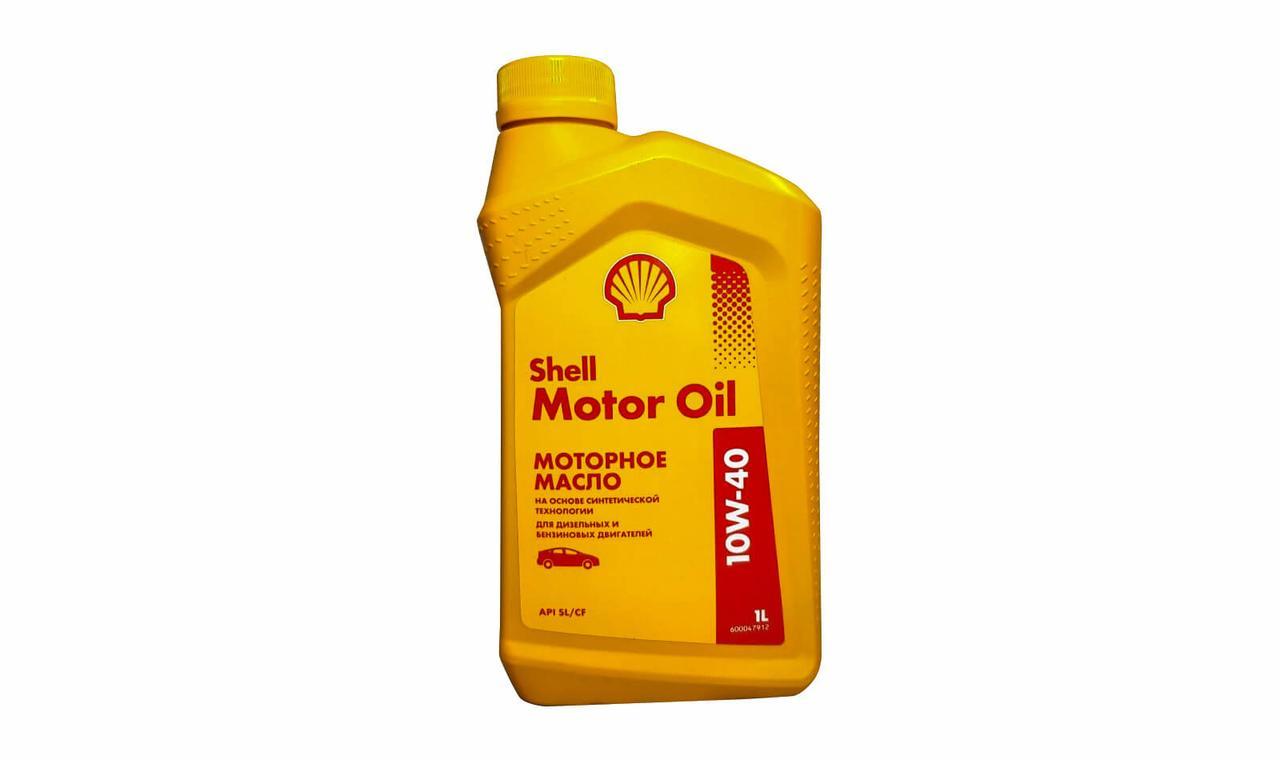 Моторное масло SHELL MOTOR OIL 10W-40 1л
