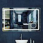 Зеркала с подсветкой Led 120 см на 80 см настенный, фото 4