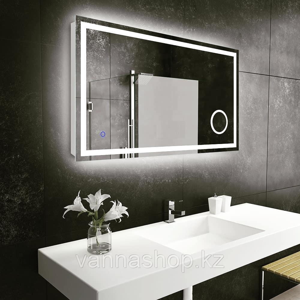 Зеркала с подсветкой Led 120 см на 80 см настенный