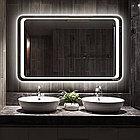Зеркало настенное с LED подсветкой, фото 2