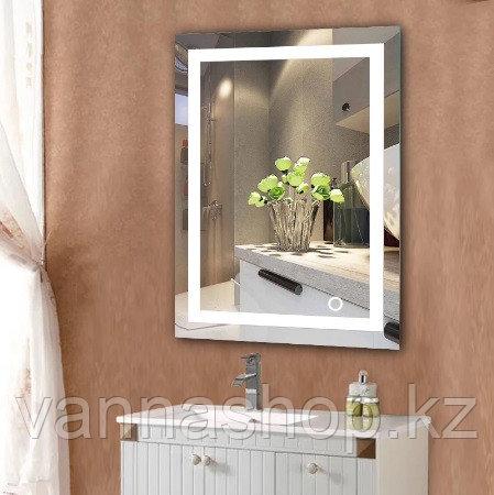 Зеркала с подсветкой ( LED ) размер 60 см на 80 см .