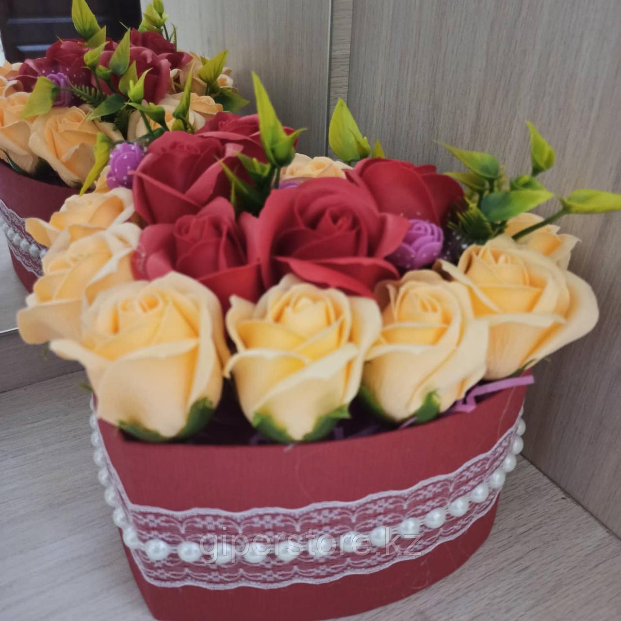 Букет из роз, 17шт.