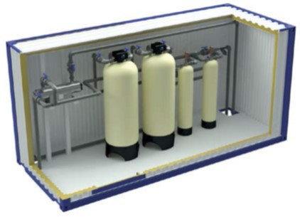 Блочно-модульные станции очистки воды AWT Серия В  (Basic), фото 2