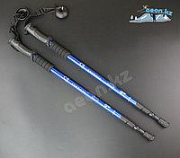 Скандинавские палки для ходьбы Синий