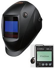 Сварочная маска с автоматическим светофильтром Tecmen ADF - 815S TM16 черная (внешн. кнопка зачистки)