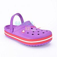 Фиолетовые сабо CROCS Crocband