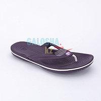 Фиолетовые шлепанцы CROCS Crocband Flip