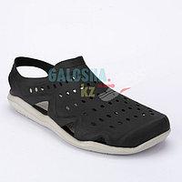 Мужские водные сандалии черного цвета CROCS Men's Swiftwater Wave