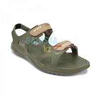 Мужские зеленые сандалии Crocs Men's Swiftwater River Sandal 43 (М10)