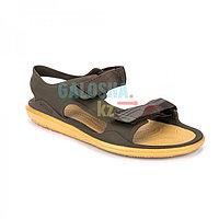 Мужские коричневые сандалии CROCS Men's Swiftwater Expedition Sandal 42 (М9)