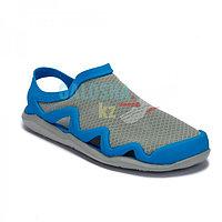 Мужские сандалии голубые Crocs Men's Swiftwater Mesh Wave Sandal