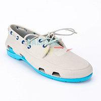 Мужские белые топсайдеры CROCS Men's Classic Boat Shoe 42-43 (М10)